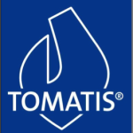 Tomats Logo dark background